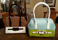 GUESS Jonsi Frame Satchel(2 colors, the price is for one handbag)