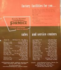 FORMICA ASBESTOS Filler for Electrical Industry 1949
