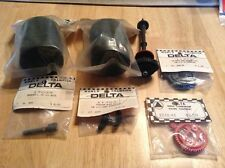 Vintage Delta Lot Front Tires/steering Block Kit /tooth Gear Assembly Kit/shaft