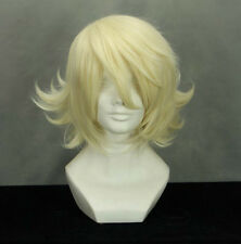 "12.6"" Layered Light Blonde TIGER BUNNY ORIGAMI CYCLONE Cosplay Wig (228A)"