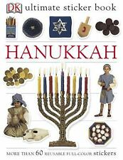 DK Ultimate Sticker Book HANUKKAH ~ Over 60 Reusable Full-Color Stickers