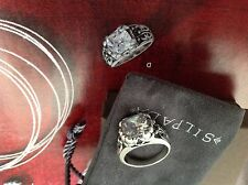Silpada blissfull Thinking Ring R3368 New In Box Size 7.