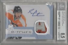2011 12 The Cup Signature Patches 3 color Sean Couturier BGS 8.5 Philly Flyers