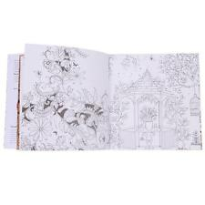 English Version Of The Secret Garden Coloring Book 20 Pages For Adult Kids Gifts