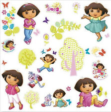 DORA THE EXPLORER & BOOTS wall stickers 28 big decals girls room decor trees