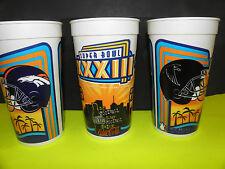 NFL-SUPER BOWL XXXIII-33 MIAMI, FLA. BRONCOS-FALCONS DUELING HELMITS COKE CUP