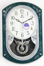 Power Melodies in Motion pendulum wall clock (PW6136EPMKS)