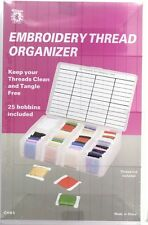 Williams Embroidery Thread Organiser Small size 18.5 x 12cm no threads included
