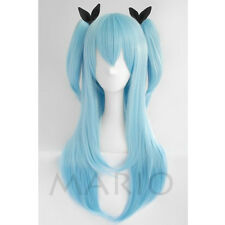 Sora no Method Noel Heroine Anime Cos Wig Clip Ponytail Cosplay Party Wig Hair