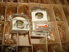 Vintage mini VU meter for recording M476/1 made USSR NOS Lot of 4 pcs.