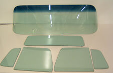 1955-1959 CHEVROLET PICKUP TRUCK WINDSHIELD SIDES BACK GLASS TINTED 6PC SET NEW