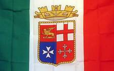 3x5 ft ROYAL ITALY CREST ITALIAN FLAG