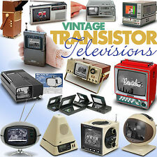 Vintage Transistor Televisions book Sony Philco Safari Sinclair Seiko Tv Watch.