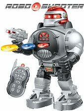 RC Robot Roboshooter Remote Control Robot – Fires Discs / Dances / Talks UK SELL