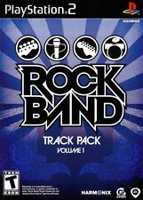 Rock Band Track Pack Vol. 1 - Playstation 2 Game Complete