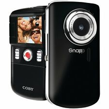 Coby Snapp CAM3002 Camcorder / Digital Video Camera - Black