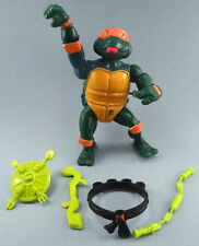 Vintage 1989 Teenage Mutant Ninja Turtles TMNT Wacky Action Michaelangelo CMPLT