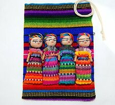 4 2 Inch Worry Doll in a Pouch. Trouble dolls, Mayan Dolls Guatemalan