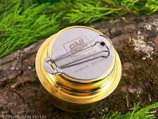 ESBIT BRASS LIGHTWEIGHT METHS ALCOHOL BURNER BUSHCRAFT SURVIVAL CAMPING HIKING