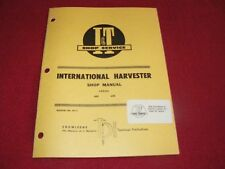 International Harvester 600 650 Tractor I&T Shop Manual 84PA