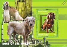 Alpine Dachsbracke Dog Stamp Sheet (Dogs of the World Series) 2013 Union Island