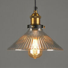 New Vintage Glass Lamp Chandelier Antique Ceiling Pendant Light Hanging Fixture