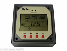 Remote Meter for Dual Battery Solar Controller
