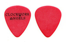 Rush Clockwork Angels Red/Black Guitar Pick - 2012 VIP