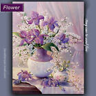 """16x20"""" Poetic flower Painting on Canvas With Frame Acrylic Paint by Number KIT"""