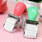 Rubber Stamps For Card Making Roller Stamp DIY Project Words and Stamps FO