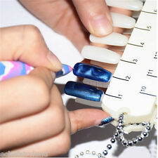 1Pc Nail Art Magnet Pen Painting Dotting Tool Cat Eyes UV Gel DIY Random Color