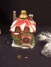 "Department 56 North Pole Series ""Ulysses The Christmas Bell Maker"" Village House"