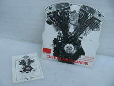 Harley Davidson Dealer Counter Display Sign AMF Shovelhead motor Air Cleaner