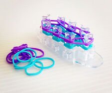 métier a tisser ovale pour bracelet arc en ciel monster tail rainbow loom band