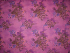 "LIBERTY OF LONDON  TANA LAWN FABRIC DESIGN ""Denise Eva"" 1 METRE PINK (100 CM)"