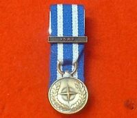 Court Mounted NATO ISAF Afghanistan Miniature Medals