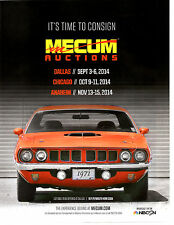 1971 PLYMOUTH HEMI CUDA  ~  GREAT MUSCLE CAR AUCTION AD