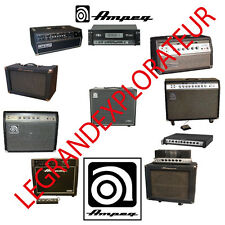 Ultimate  Ampeg  Owners & Service Schematics Manuals   (300 PDF manual s on DVD)