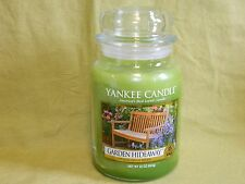 Yankee Candle 22 oz Large Jar Candle  New --- Garden Hideaway