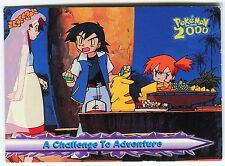 POKEMON English TOPPS 2000 CARD little Used #27 A CHALLENGE TO ADVENTURE