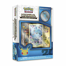 POKEMON MYTHICAL MANAPHY COLLECTION BOX: GENERATIONS BOOSTER PACKS + PROMO CARD