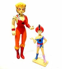 "Retro Classic 1980's THUNDERCATS CHEETARA 6"" & Mini figure, RARE, good shape"