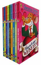 Geronimo Stilton Children 9 Books Collection Set Lost Treasure of Emerald Eye