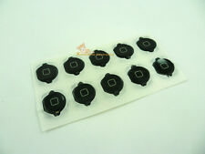 10pcs/lot Black Home Button Key with Rubber Gasket for iPod Touch 4th Gen 4G