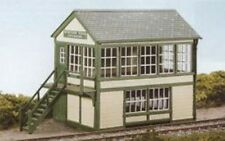 Wills SS48 Wooden Saxby & Farmer Signal Box 00 Gauge Plastic Kit Tracked 48 Post