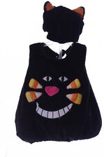 Baby Infant Toddler Black Cat Kitty Kitten Halloween Costume Hat with Ears NEW