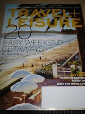 TRAVEL AND LEISURE MAGAZINE MAY 2013 WEEKEND GETAWAYS AMSTERDAM ITALY MELBOURNE
