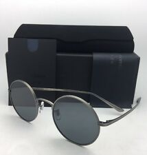 OLIVER PEOPLES The ROW Sunglasses AFTER MIDNIGHT OV 1197ST 5253R5 Pewter w/ Blue