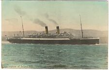 "VERY RARE Alfred Dufty Tinted RPPC: CP LINER ""EMPRESS OF IRELAND"" SHIPWRECK"