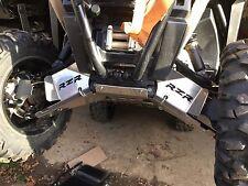 """POLARIS RZR 900 TRAIL FRONT A-ARM GUARDS & REAR A-ARM  GUARDS 3/16"""" ALUM"""